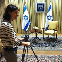 סמדר גל צילומים בבית הנשיא שמעון פרס